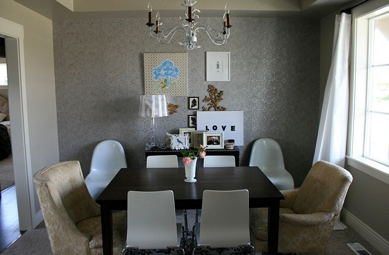 Modern table lamp for the dining room