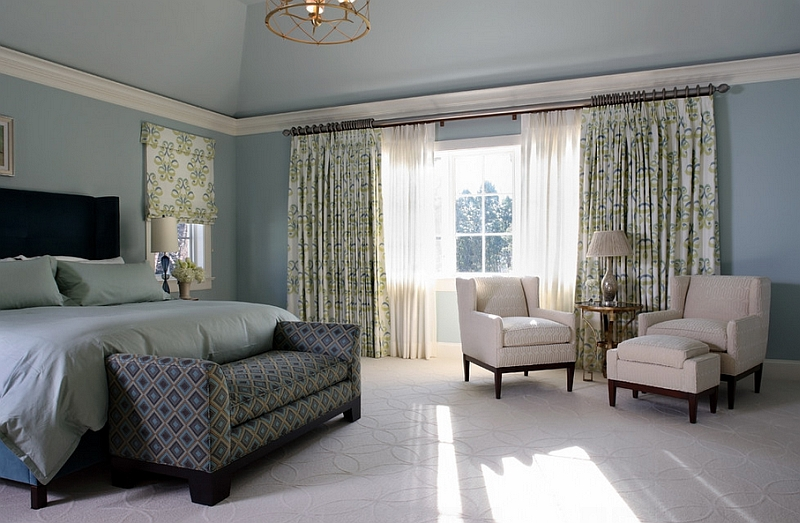 Multiple layers of drapes offer greater flexibility and insulation