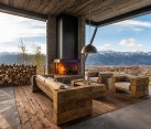 Open Entry Room with Mountain Views in Jackson Hole