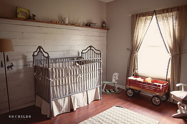 Opting for a more eclectic style in the nursery