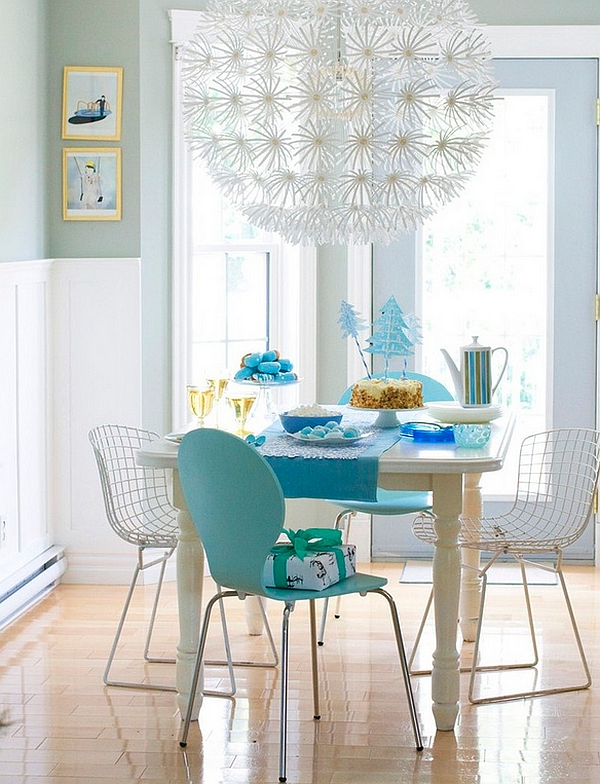 PS Maskros Pendant Lamp brings chic appeal to the dining room