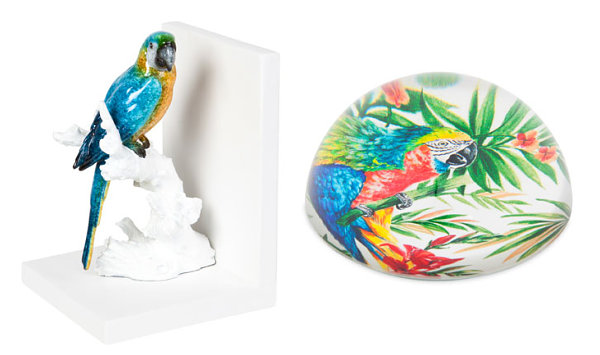 Parrot-themed decor from Zara Home