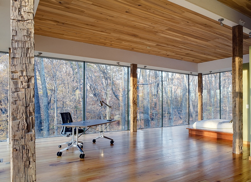 View In Gallery Perfect Minimalist Bedroom For A Nature Lover