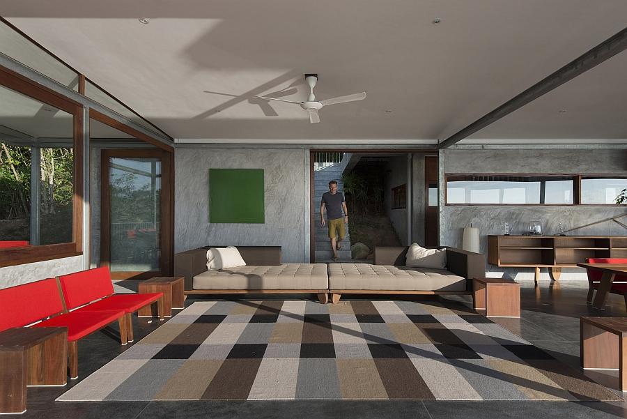 Plush decor for the interior