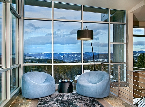 Plush seating to sink into as you enjoy the majestic view outside