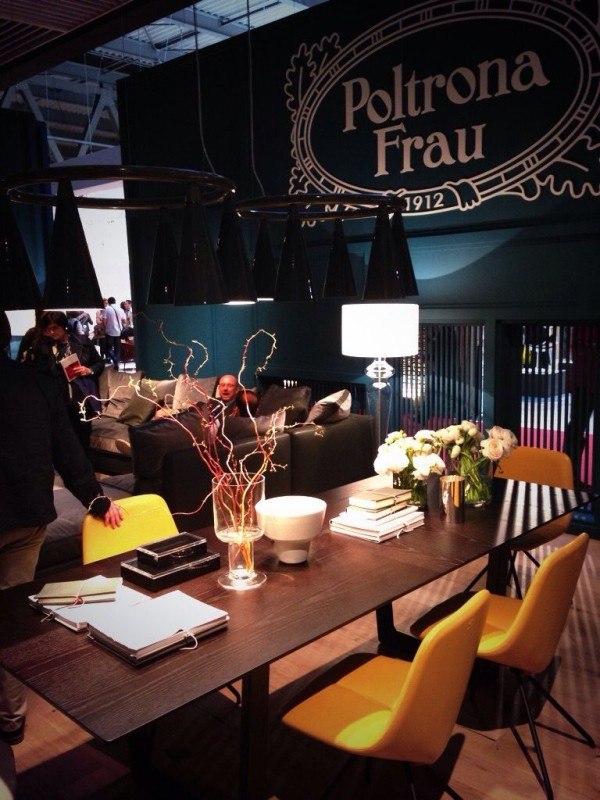 Poltrona Frau Furniture - iSaloni 2014