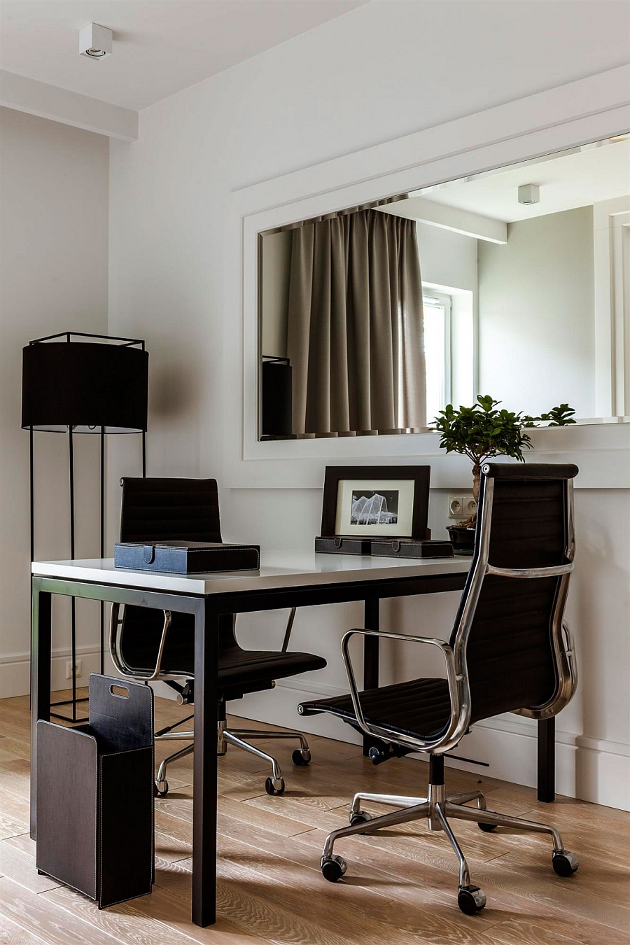 Posh home office idea