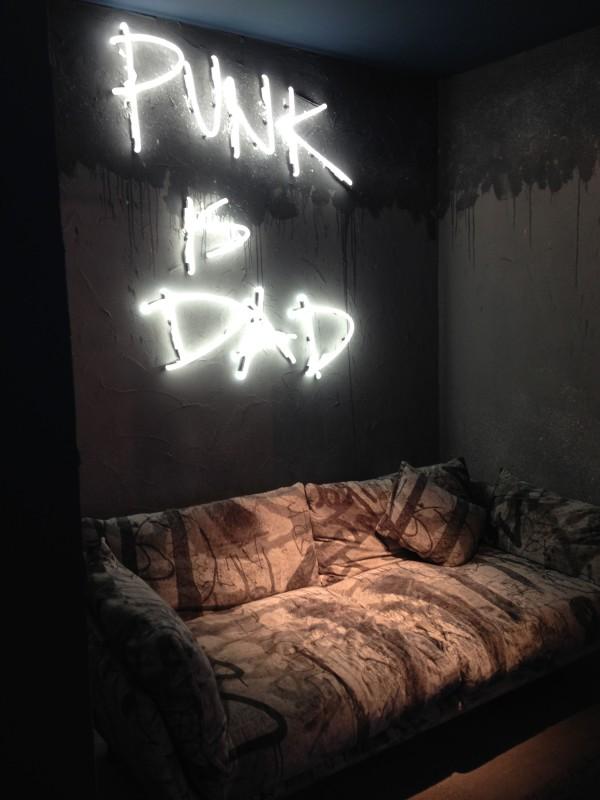 Punk is Dad - Diesel - iSaloni 2014