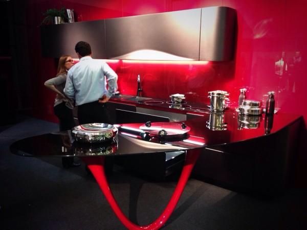 Red Fancy Kitchen - Snaidero - iSaloni 2014