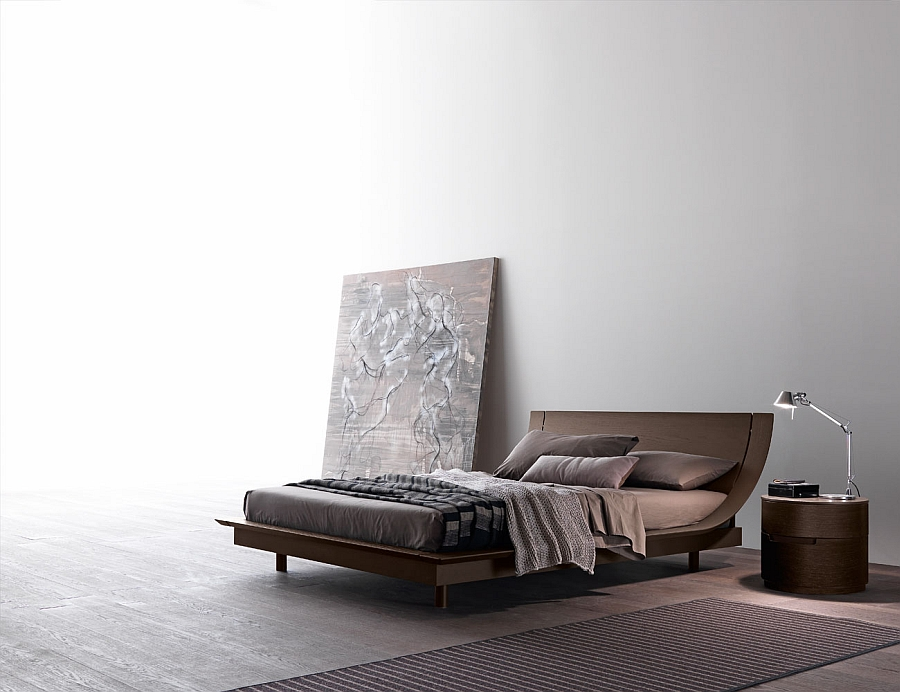 Simple, minimal design of stunning contemporary bed