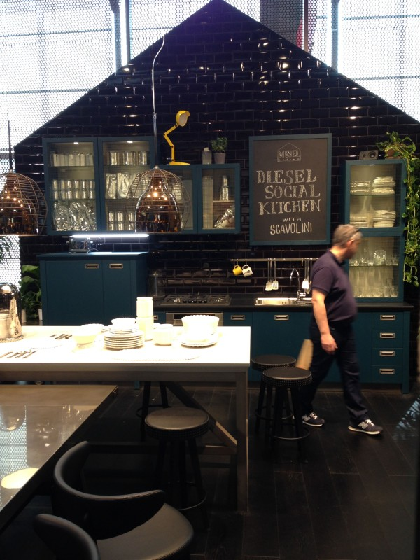 Social Kitchen Design - Diesel - iSaloni 2014