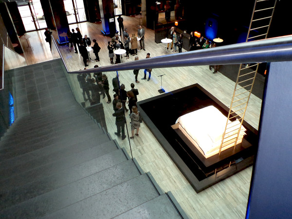 Sofitel Munich Bayerpost MyBed design competition event 2 600x450 Celebrating Clementine Pautrots MyBed™ Inspired Sleeping Universe