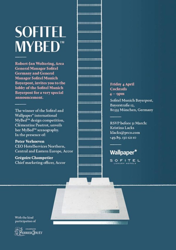 Sofitel Munich Bayerpost MyBed design competition event (3)