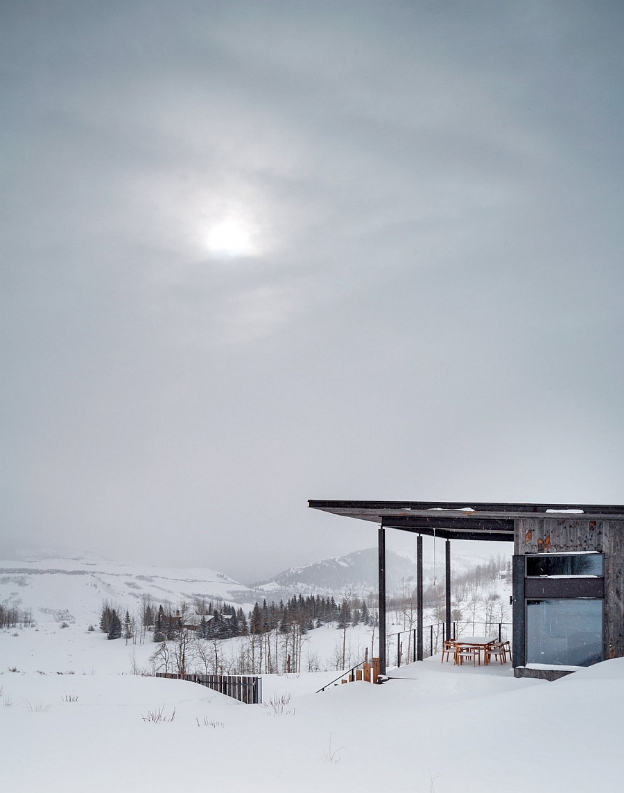 Stunning views from the Jackson Hole vacation home