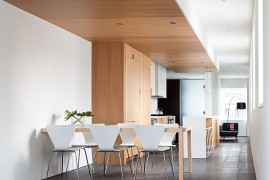 Stylish Apartment Renovation Dining Room and Kitchen