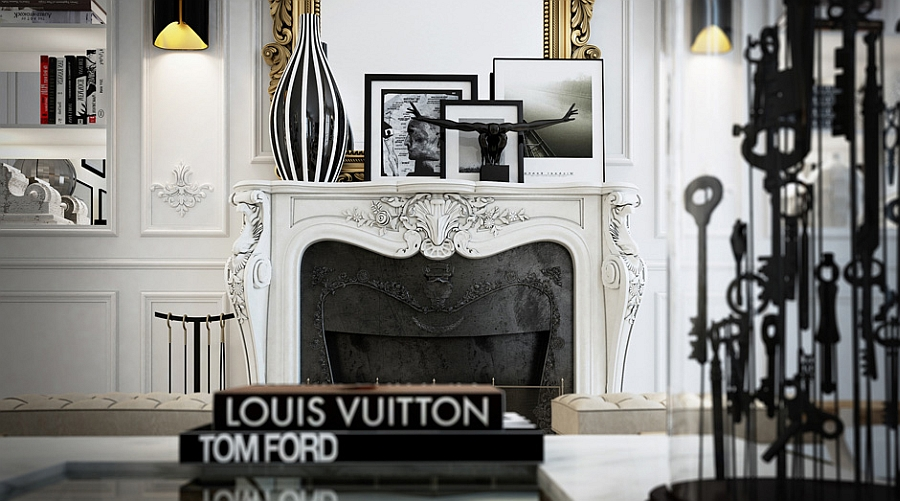 Paris Interior Design glamorous apartment in paris dazzles with extravagance