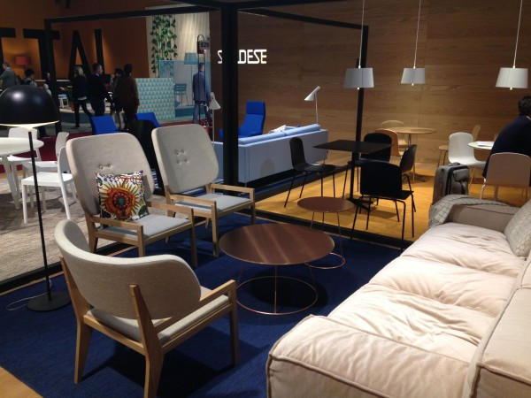 Swedes - Scandinavian Furniture - iSaloni 2014