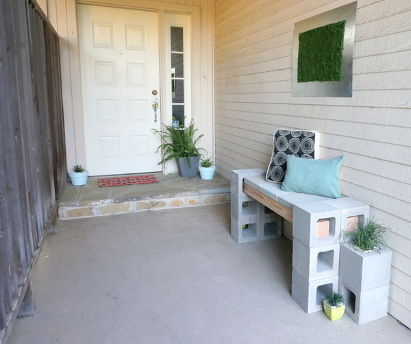 The final front porch makeover