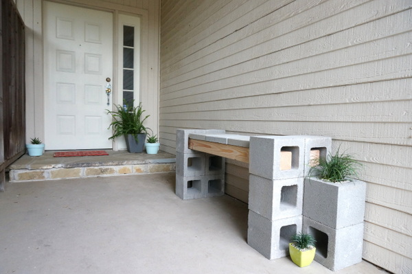 The front porch makeover is not yet complete