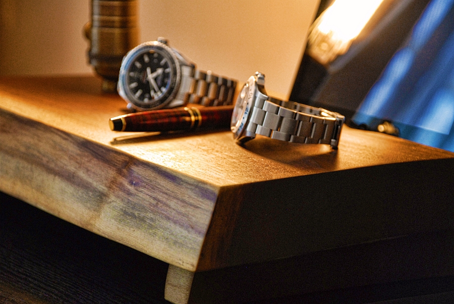 TimberHarmony is made from salvaged black walnut wood