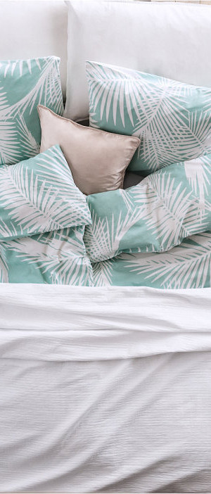Tropical duvet cover set
