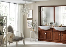 Dreamy Bathroom Brings Back Classical Design With Trendy Sophistication