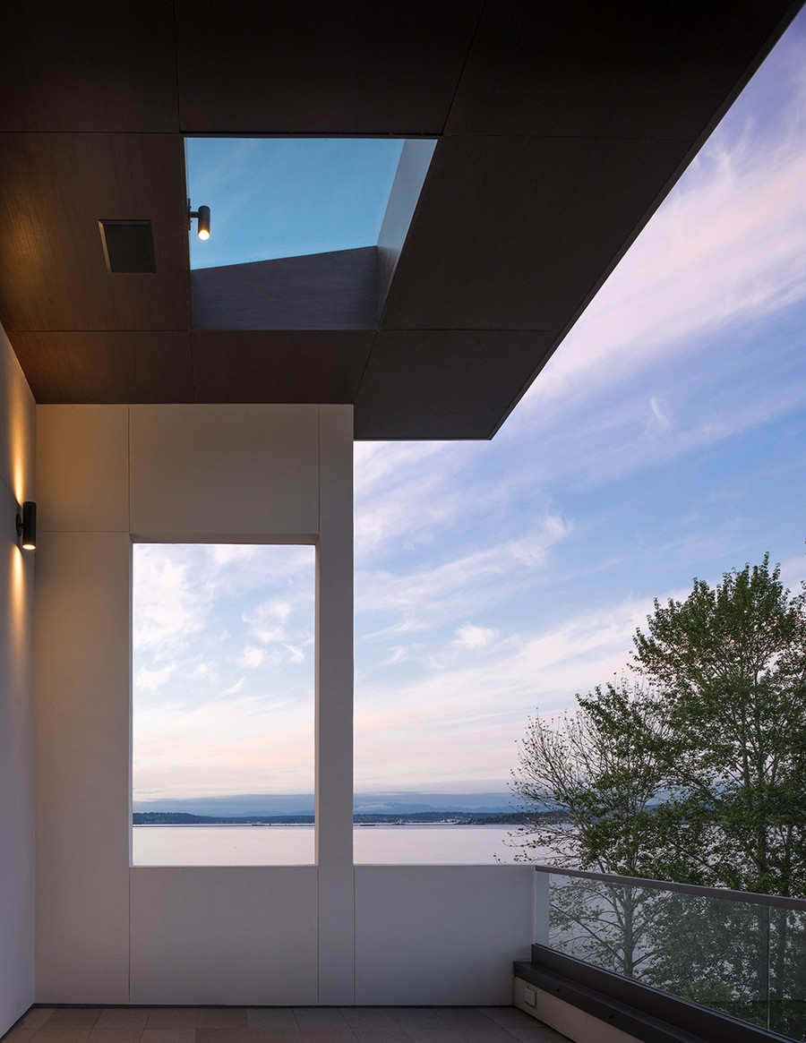 View of Lake Washington from Madrona House
