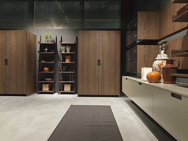 Modern italian kitchen designs from pedini for Contemporary kitchen designs 2014