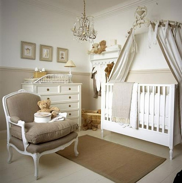 White floors for the nursery
