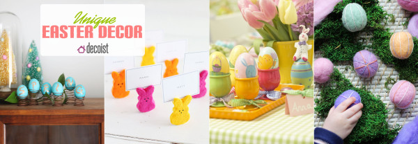 creative easter decor