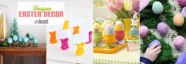 creative easter decor 600x208 Unique Easter Decorating Ideas