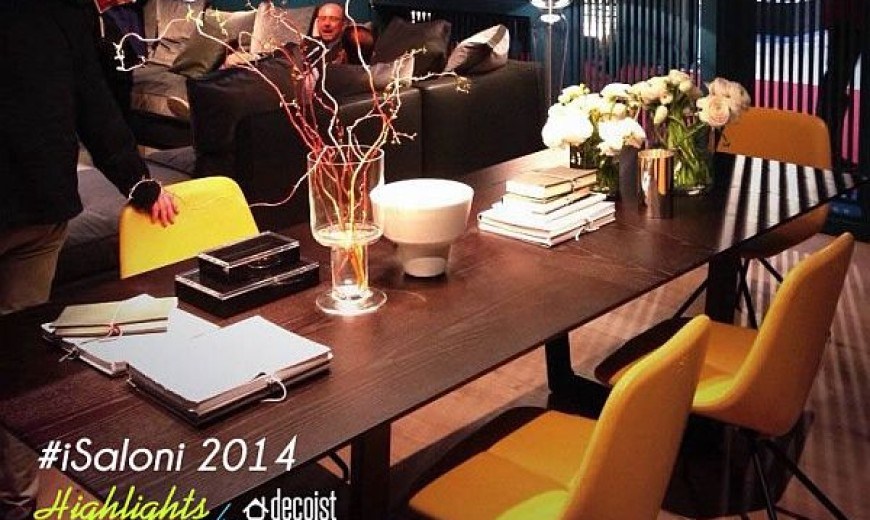 #iSaloni 2014, Or How Milan Becomes Capital Of Furniture For One Week