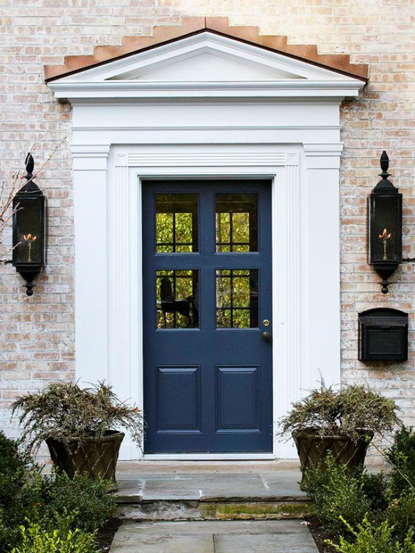 Navy Blue Front Door Decoist