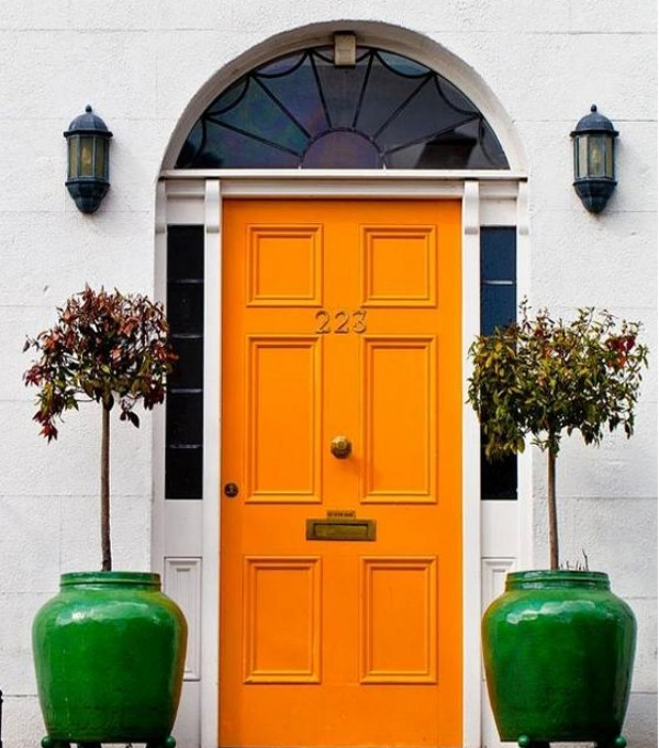 lovely painted front doors amazing design