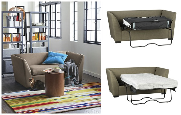 Small and stylish sleeper sofas for Office with sofa bed