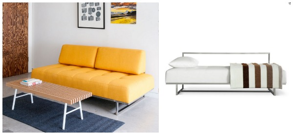 View In Gallery Yellow Sleeper Sofa