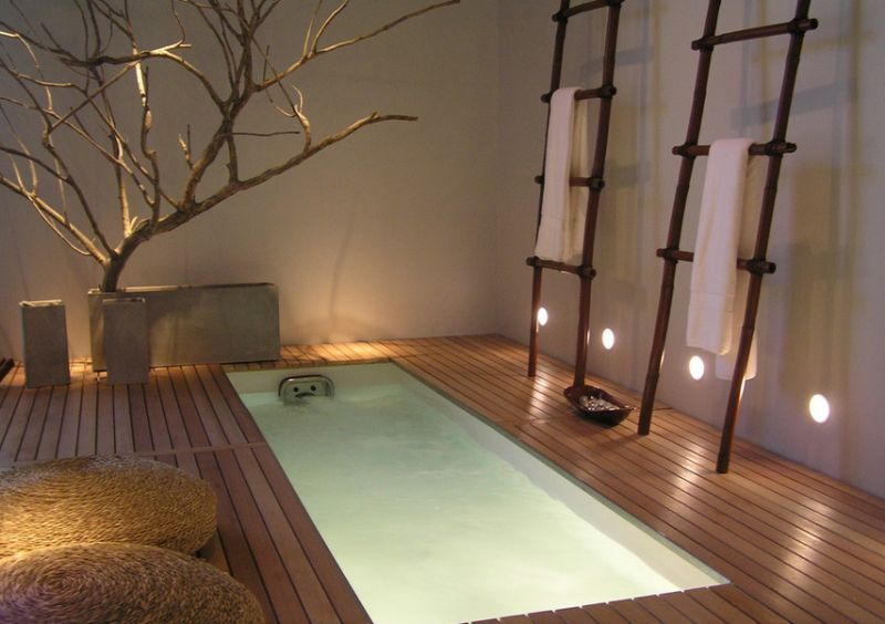 A beautiful home spa with serene ambiance How To Bring Home Spa Like Opulence With Amazing Hot Tubs