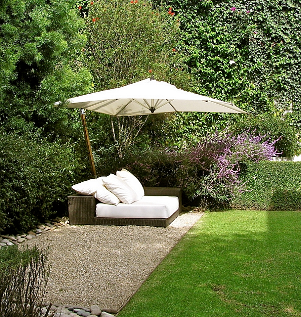 Ideas For Garden Design Relax: 40 Outdoor Beds For An Amazing Summer