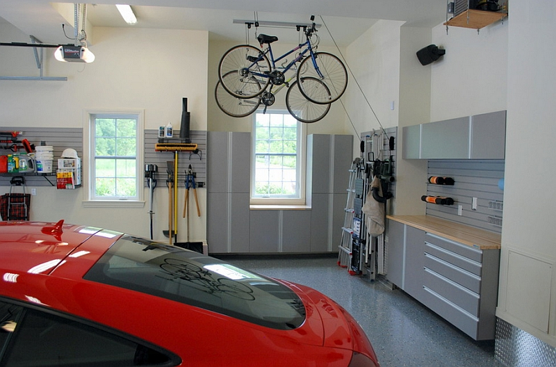 Add some two-wheeled fun to your car garage!