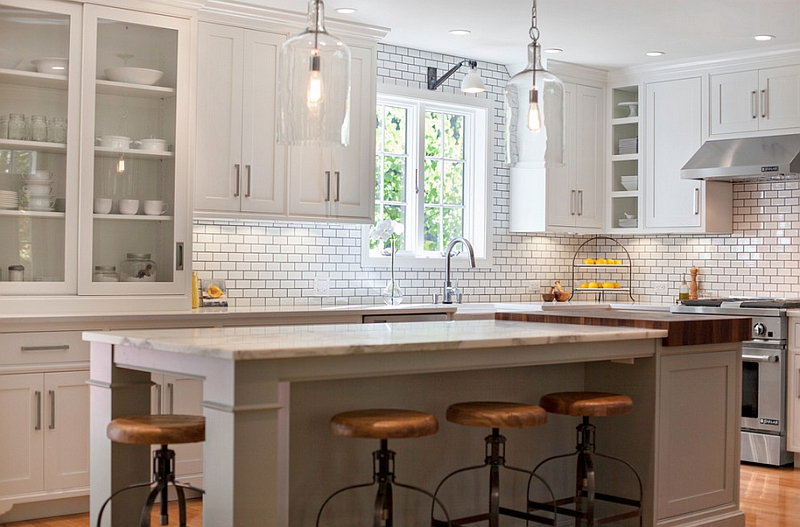 Country Open Style Kitchen Faucets