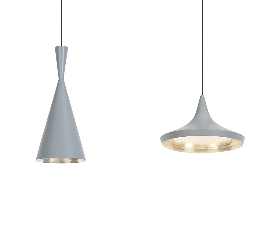 Beat pendants in stylish minimal design