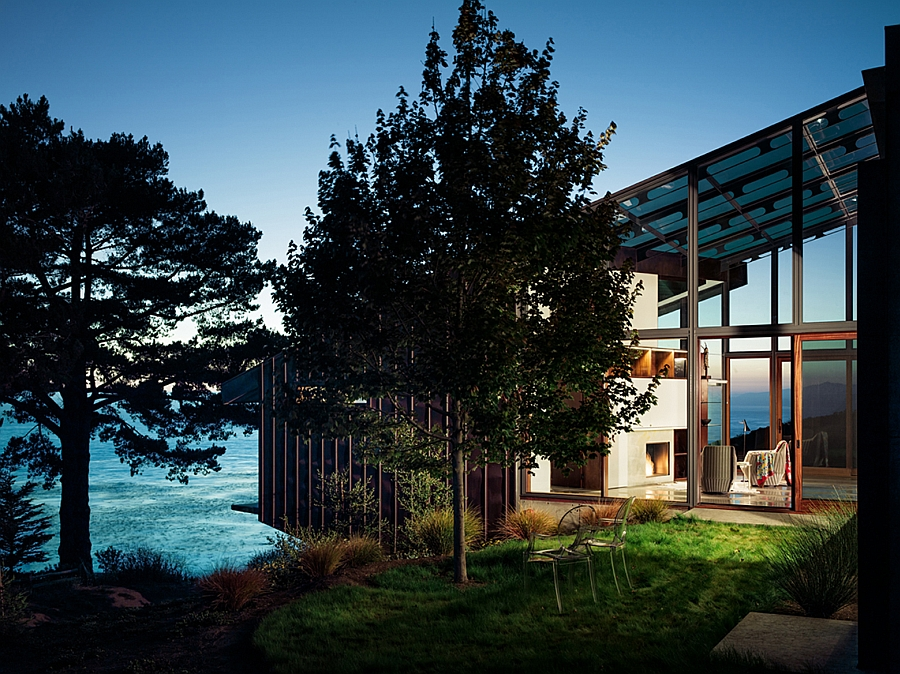 Buck Creek House by Fougeron Architecture in big Sur, California