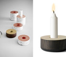Chunks series candleholder by Andreas Engesvik
