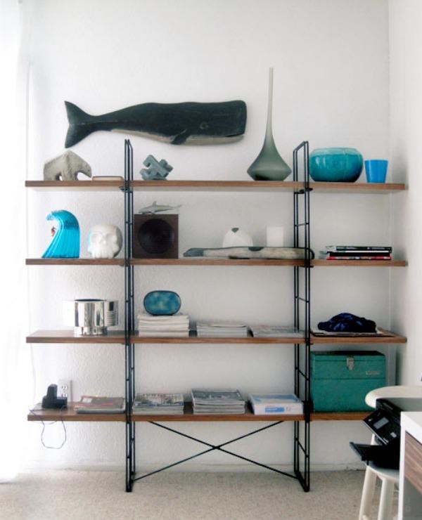 Contact paper shelves