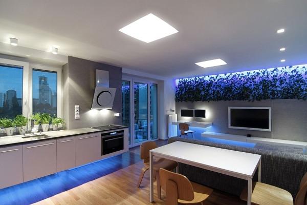 Contemporary apartment in Bratislava Slovakia