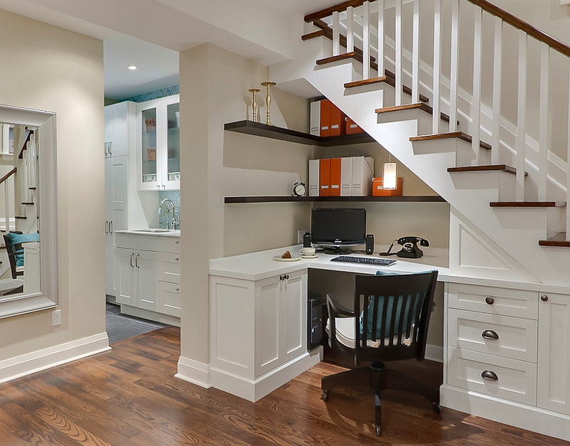 Create a wonderful entry to the basement office