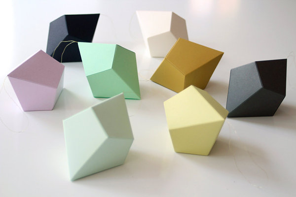 DIY geometric forms