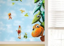 Enliven Your Kids' Bedroom With Dinosaur-Themed Wall Art And Murals