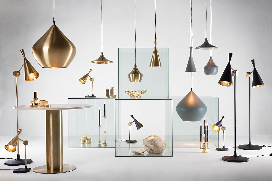 Entire Beat Collection from Tom Dixon on Display