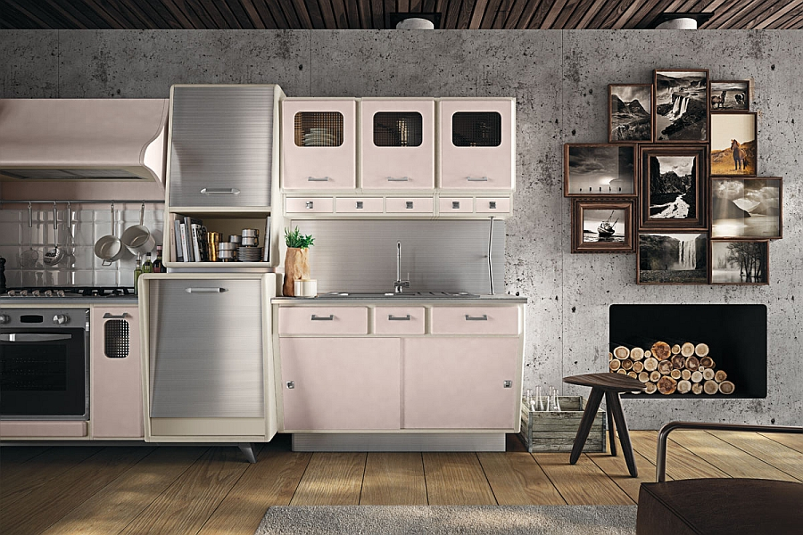 Kitchen Cabinets Vintage Style vintage kitchen offers a refreshing modern take on fifties style